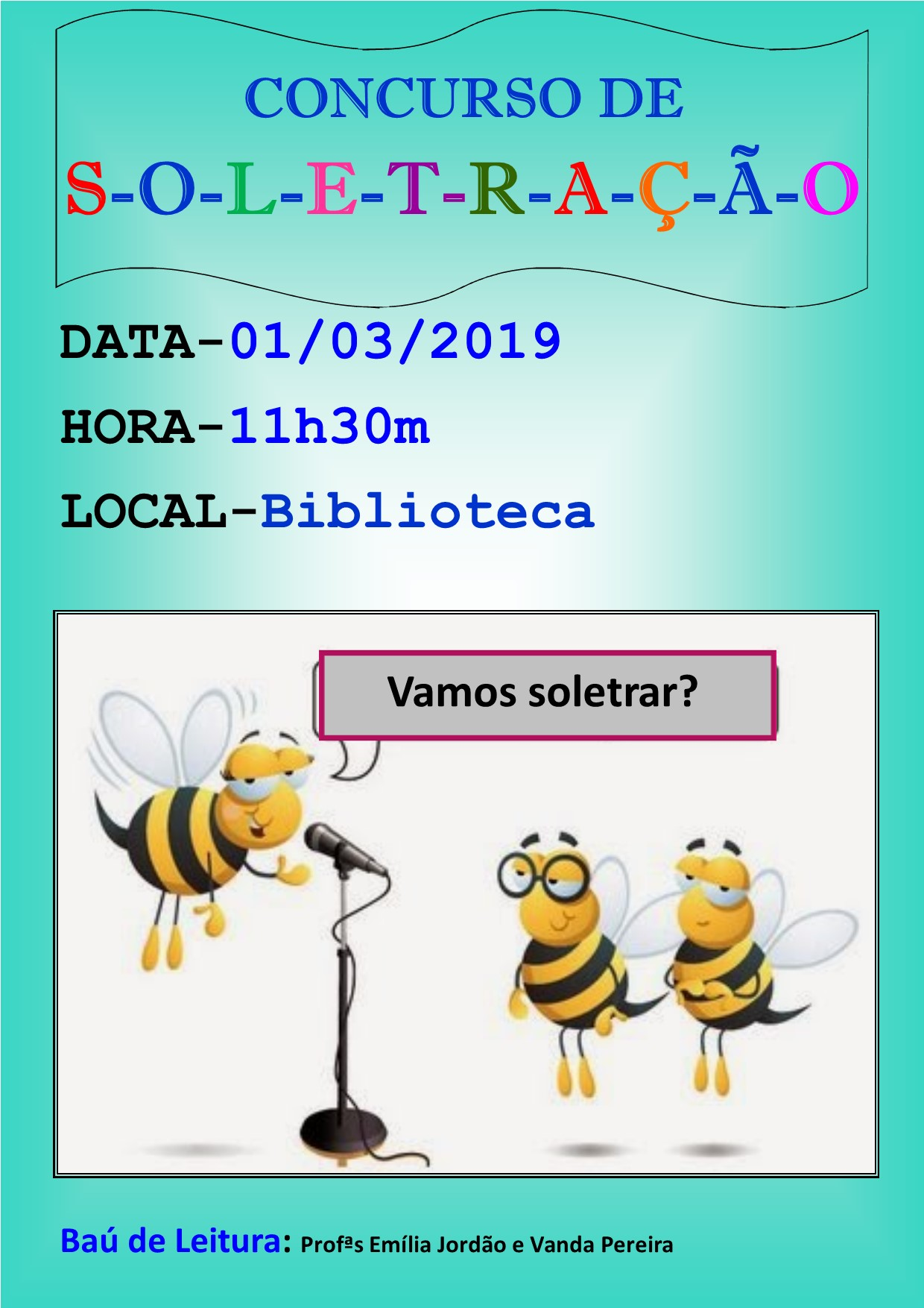 Cartaz soletracao